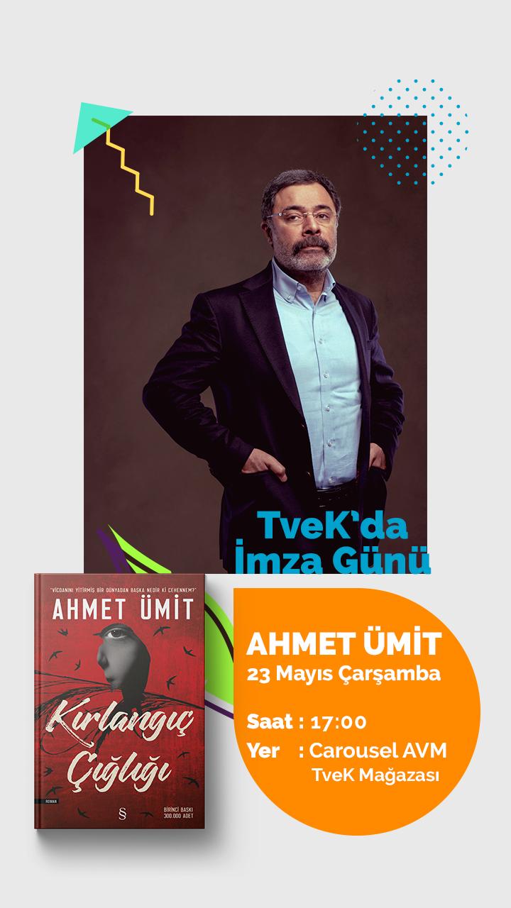 TveK'da Ahmet Ümit İmza Günü